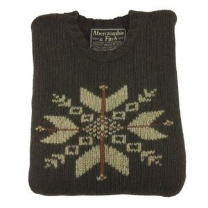 Abercrombie And Fitch Crewneck Wool Sweater